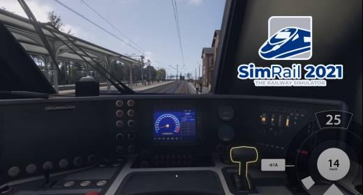 SimRail 2021 Gameplay Intro #1